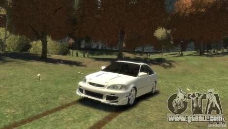 Honda Civic Si 1999 for GTA 4