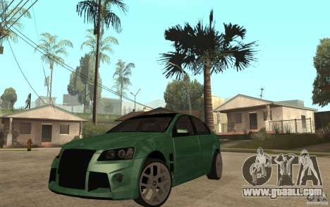 Holden Commodore 2010 for GTA San Andreas