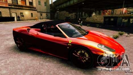 Ferrari 430 Spyder v1.5 for GTA 4 side view