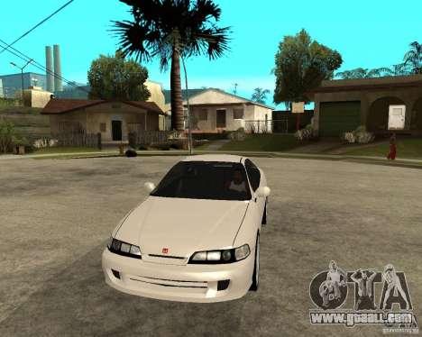 Honda Integra 1996 for GTA San Andreas back view