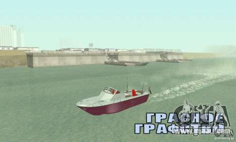 Sports Fishing Boat for GTA San Andreas