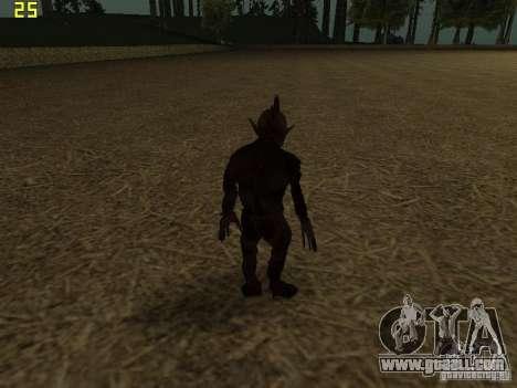 Chupacabra for GTA San Andreas fifth screenshot