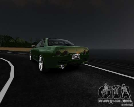 Nissan Skyline R32 GTS-t Veilside for GTA 4 right view