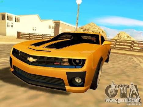 Chevrolet Camaro SS 2010 for GTA San Andreas right view