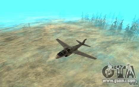 EA-6B Prowler for GTA San Andreas left view