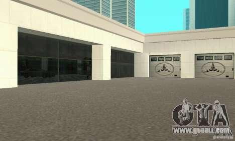 Mercedes Showroom v.1.0 (Autocentre) for GTA San Andreas second screenshot