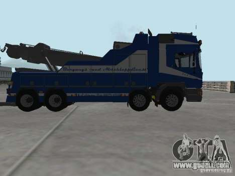MAN F2000 (with CLEO script) for GTA San Andreas bottom view