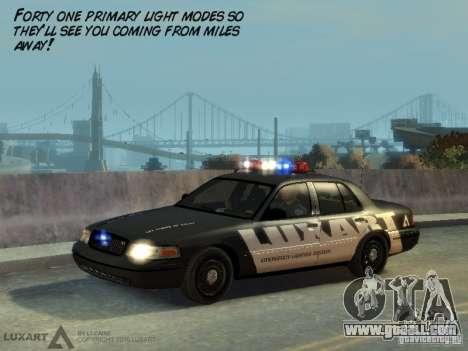 EMERGENCY LIGHTING SYSTEM V6 for GTA 4 forth screenshot