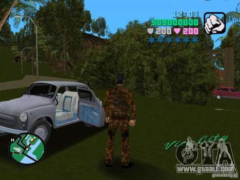 ZAZ 965 for GTA Vice City left view