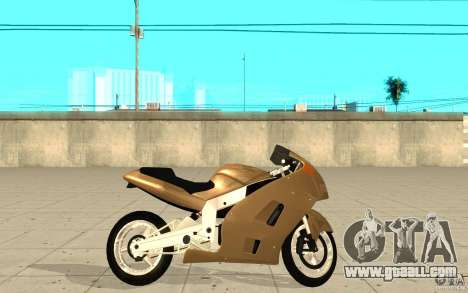 GTAIV TLAD Hakuchou Custom Version for GTA San Andreas left view