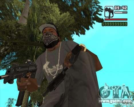 New Micro uzi HD for GTA San Andreas