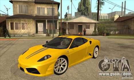 Ferrari F430 Scuderia 2007 for GTA San Andreas right view