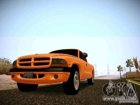 Dodge Ram 1500 Dacota for GTA San Andreas left view