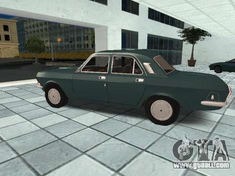 GAZ 24-10 v 2. for GTA San Andreas left view