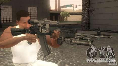 AK-47 v2 for GTA San Andreas third screenshot