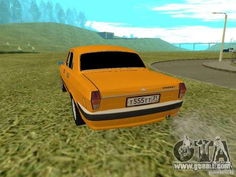 GAZ 24-10 Volga for GTA San Andreas right view