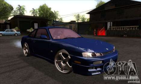 Nissan 200SX for GTA San Andreas back view