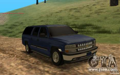 Chevrolet Suburban 2006 for GTA San Andreas left view