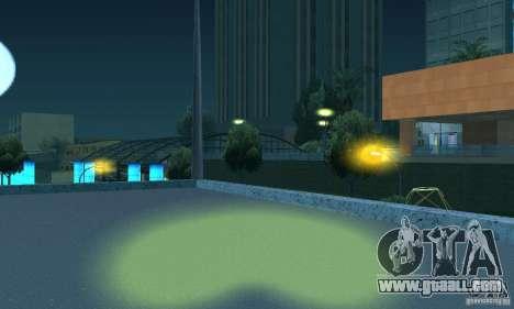 Yellow headlights for GTA San Andreas fifth screenshot