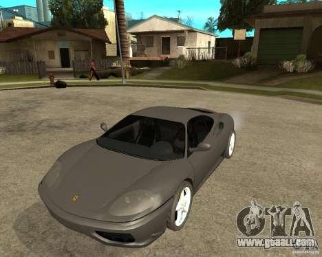 Ferrari 360 modena TUNEABLE for GTA San Andreas
