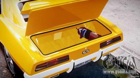 Chevrolet Camaro for GTA 4 side view