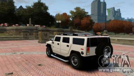 Hummer H2 for GTA 4 right view