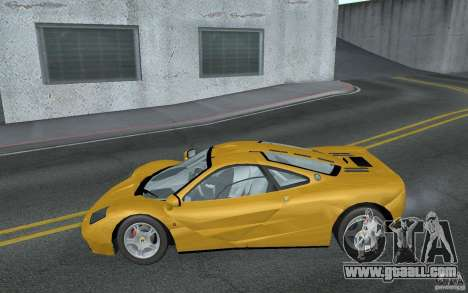 Mclaren F1 road version 1997 (v1.0.0) for GTA San Andreas