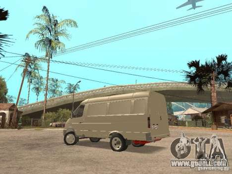 Gazelle 2705 for GTA San Andreas right view