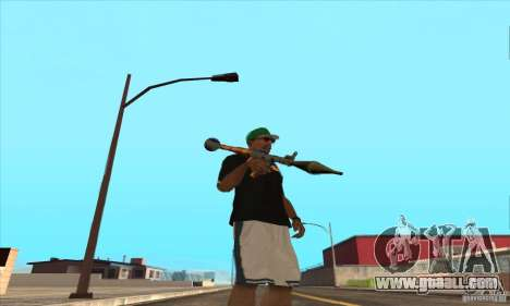 WEAPON BY SWORD for GTA San Andreas eighth screenshot