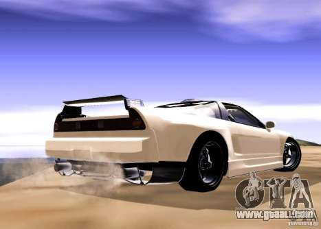 Acura NSX Tuned for GTA San Andreas back left view
