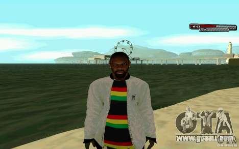 Jamaican HD Skin for GTA San Andreas