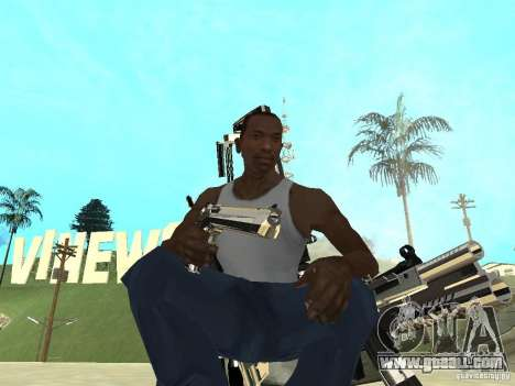 Weapons Pack for GTA San Andreas