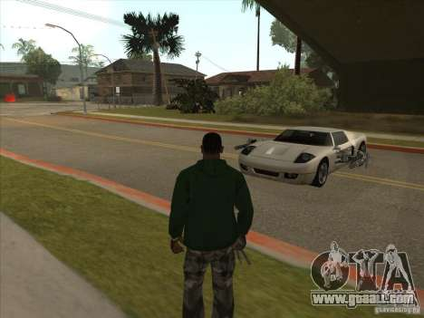 The CLEO script: Super Car for GTA San Andreas fifth screenshot