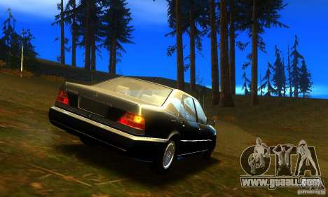 Mercedes-Benz 600SEL v2.0 for GTA San Andreas left view