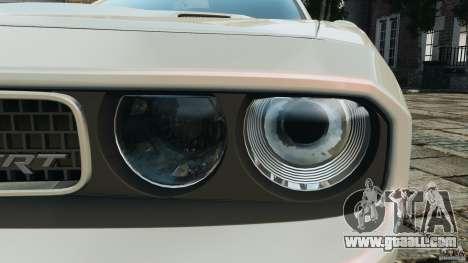 Dodge Challenger SRT8 392 2012 for GTA 4 engine