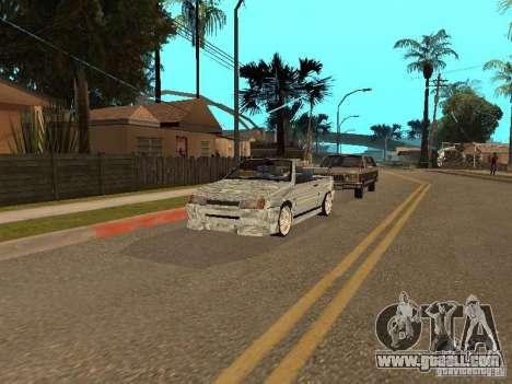 VAZ 2108 Convertible for GTA San Andreas back view