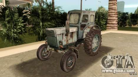 Tractor t-40 for GTA Vice City back view