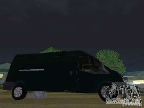 Ford Transit 350L for GTA San Andreas back view