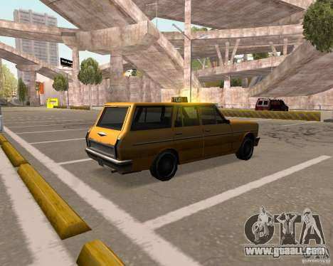 Perennial Cab for GTA San Andreas back left view