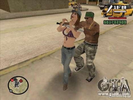 Break down the spine of a bat for GTA San Andreas third screenshot