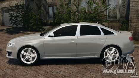 Audi RS6 2010 v1.1 for GTA 4 left view