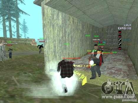 SA:MP 0.3d for GTA San Andreas third screenshot