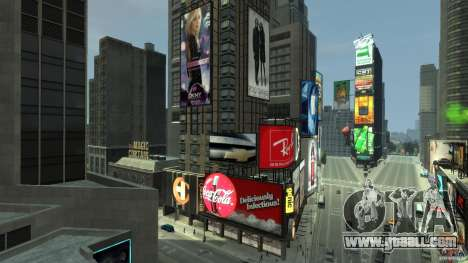 Time Square Mod for GTA 4 eighth screenshot
