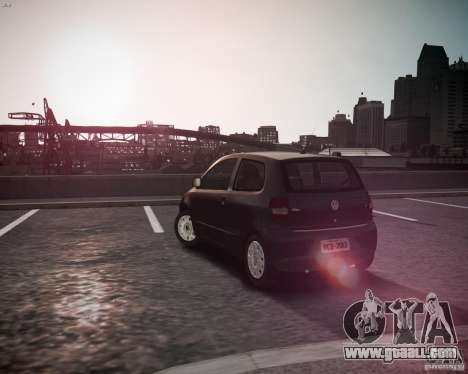 Volkswagen Fox 2011 for GTA 4 back left view