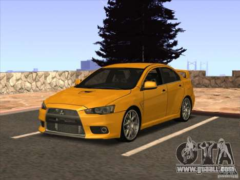 Enb from GTA IV for GTA San Andreas