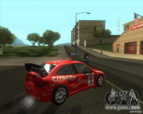 Citroen Xsara 4x4 T16 for GTA San Andreas right view