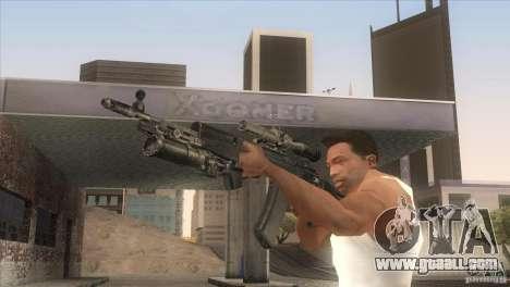 AK-47 v2 for GTA San Andreas forth screenshot