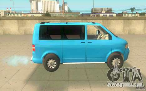 Volkswagen Caravelle for GTA San Andreas left view