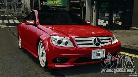 Mercedes-Benz C350 Avantgarde v2.0 for GTA 4