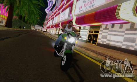 Honda CB600F Hornet 2012 for GTA San Andreas right view